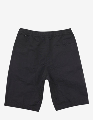 Stone Island Shadow Project Black Nylon Shorts