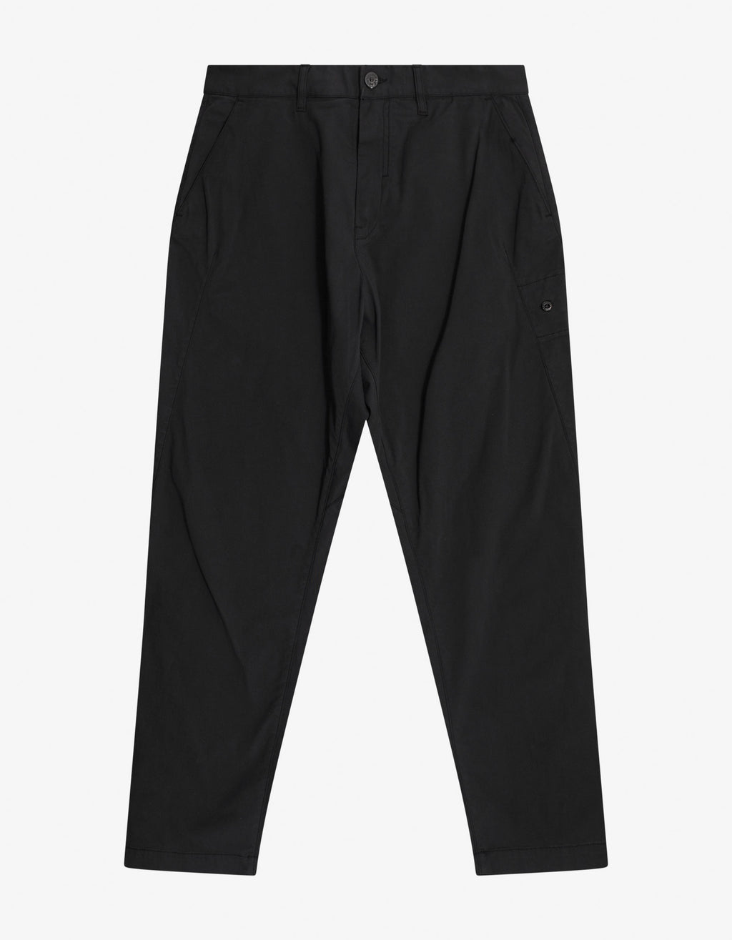 Black Relaxed Fit Trousers