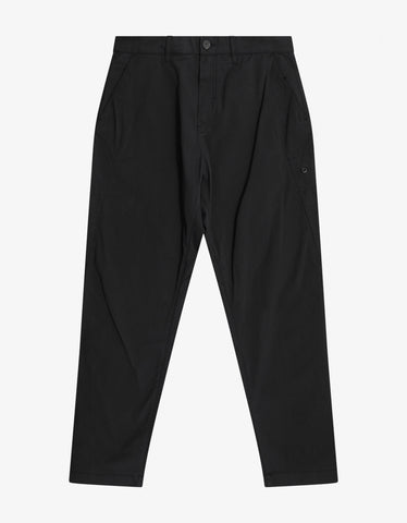 Black Stripe Logo Sweat Pants