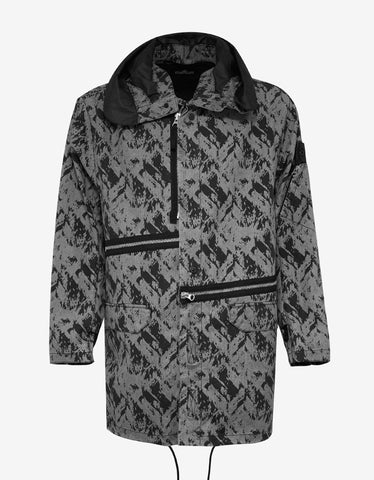 Stone Island Shadow Project Discharge Cotton 2.5L Fishtail Parka