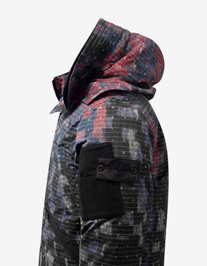 Graphic Camouflage DPM Chiné Down Jacket