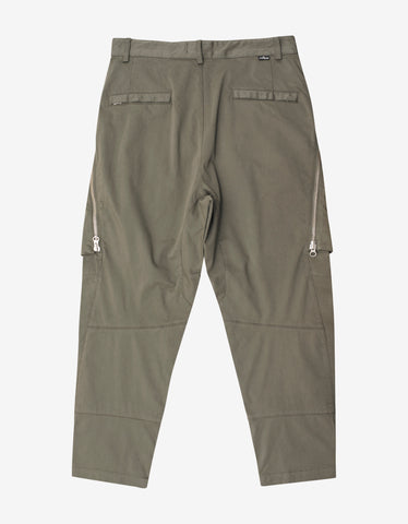 Stone Island Shadow Project Green Cargo Trousers