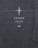 Dark Grey Over Dyed Graphic T-Shirt
