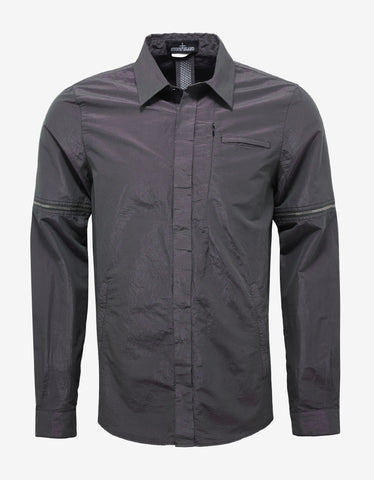 Stone Island Shadow Project Iridescent Shirt