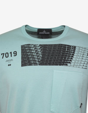 Teal Graphic T-Shirt -
