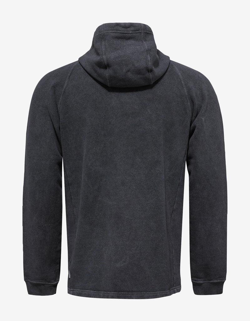 Grey Over Dyed Hoodie