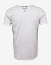 White Chest Pocket Graphic T-Shirt