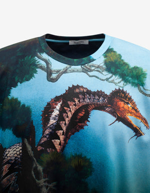 All-Over Dragons Garden T-Shirt