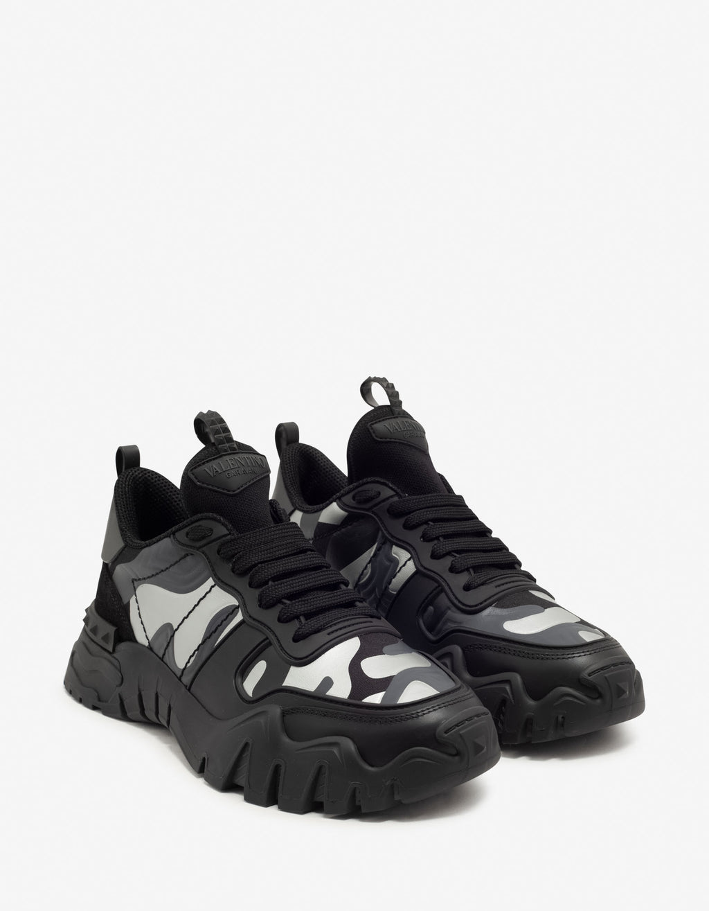 Black Camouflage Rockrunner Plus Trainers