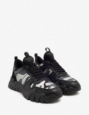 Black Camouflage Rockrunner Plus Trainers -
