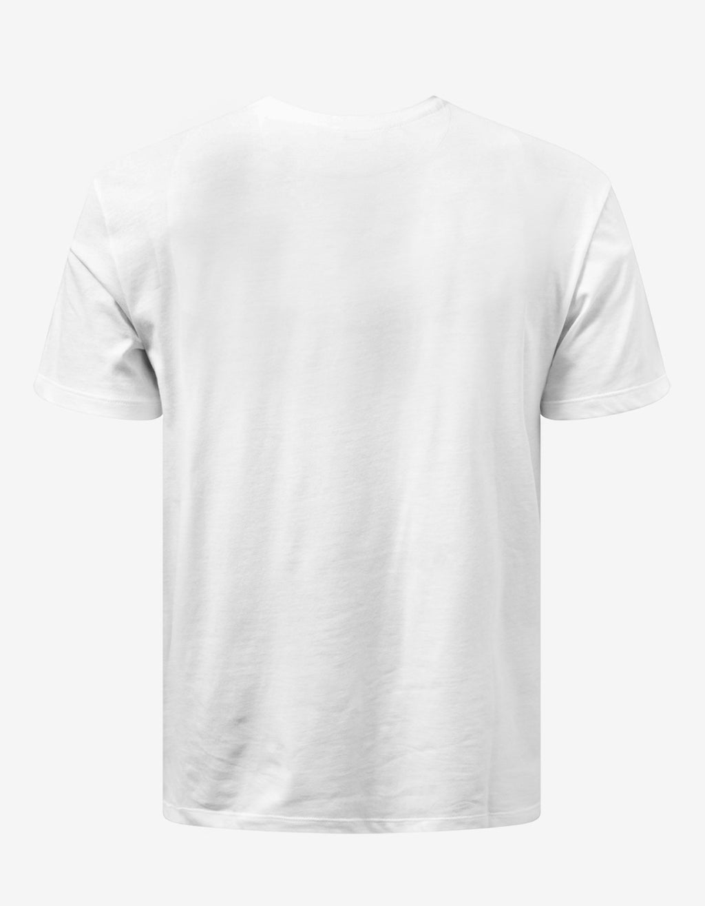 White VLOGO Shadow Print T-Shirt