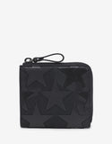 Camustars Black Zip Wallet