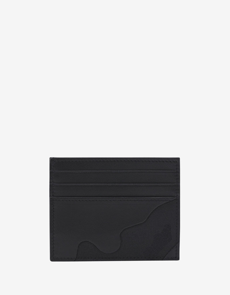 Black Camouflage Card Holder