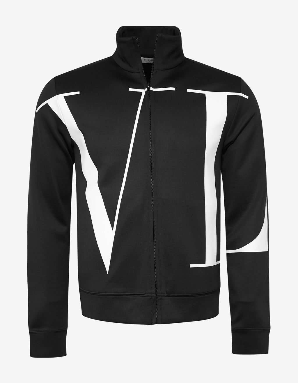 Black VLTN Zip Sweatshirt