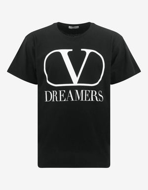 Black Vlogo Dreamers Oversized T-Shirt