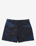 Blue Camustars Print Swim Shorts