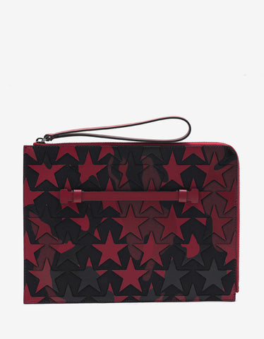 Valentino Garavani Camustars Red & Black Document Holder