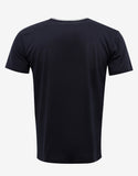 Dark Blue T-Shirt with Parrot Graphic