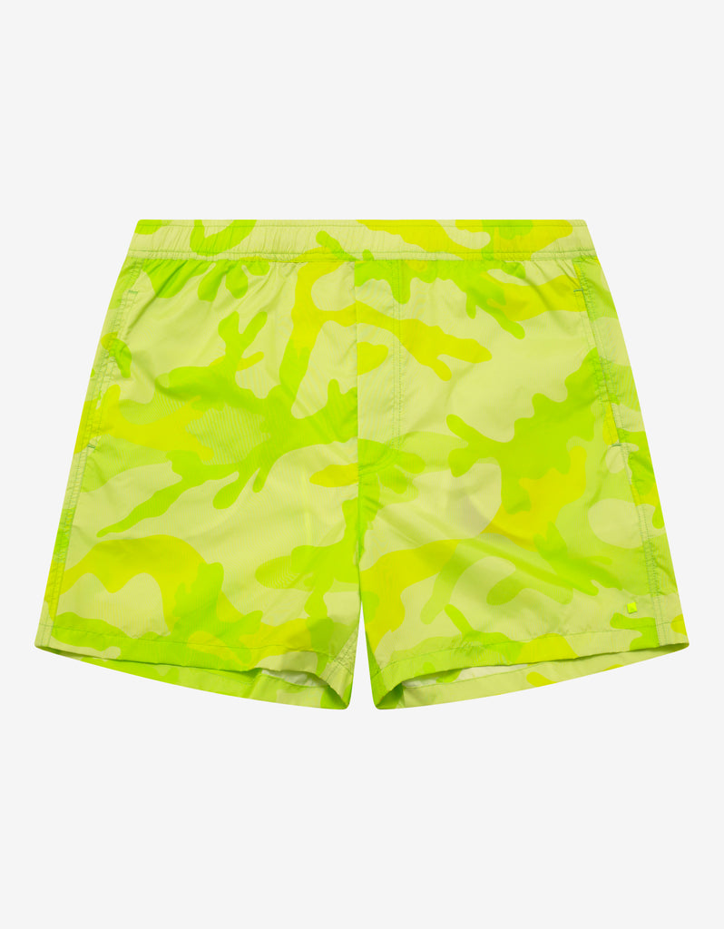 d12a2fcc99 Valentino Florescent Yellow Camouflage Swim Shorts – ZOOFASHIONS.COM