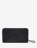 Black Camouflage Long Zip Wallet