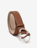 Brown 'V' Buckle Belt