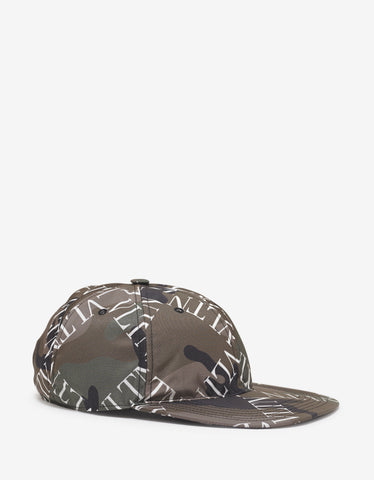 Black Biggie Sunglasses Print Cap -