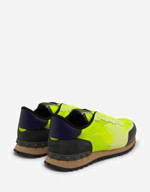 Florescent Yellow Camouflage Rockrunner Trainers