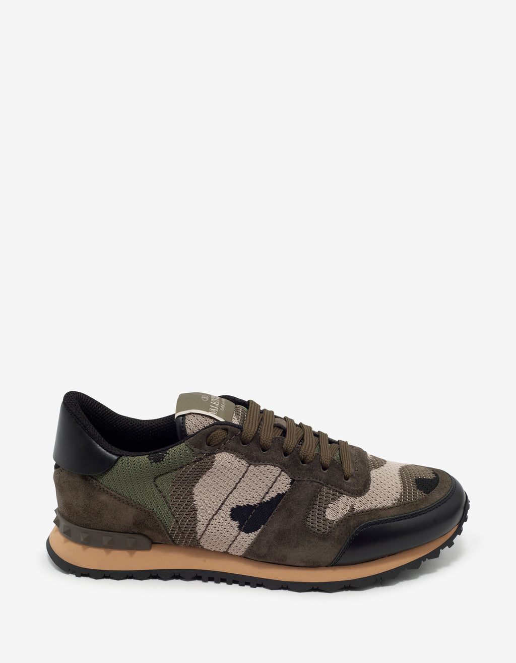 Green Mesh Camouflage Rockrunner Trainers
