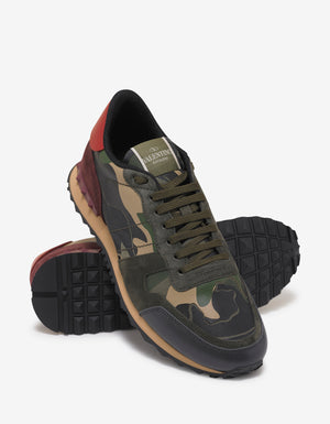 Green & Red Camo Rockrunner Trainers