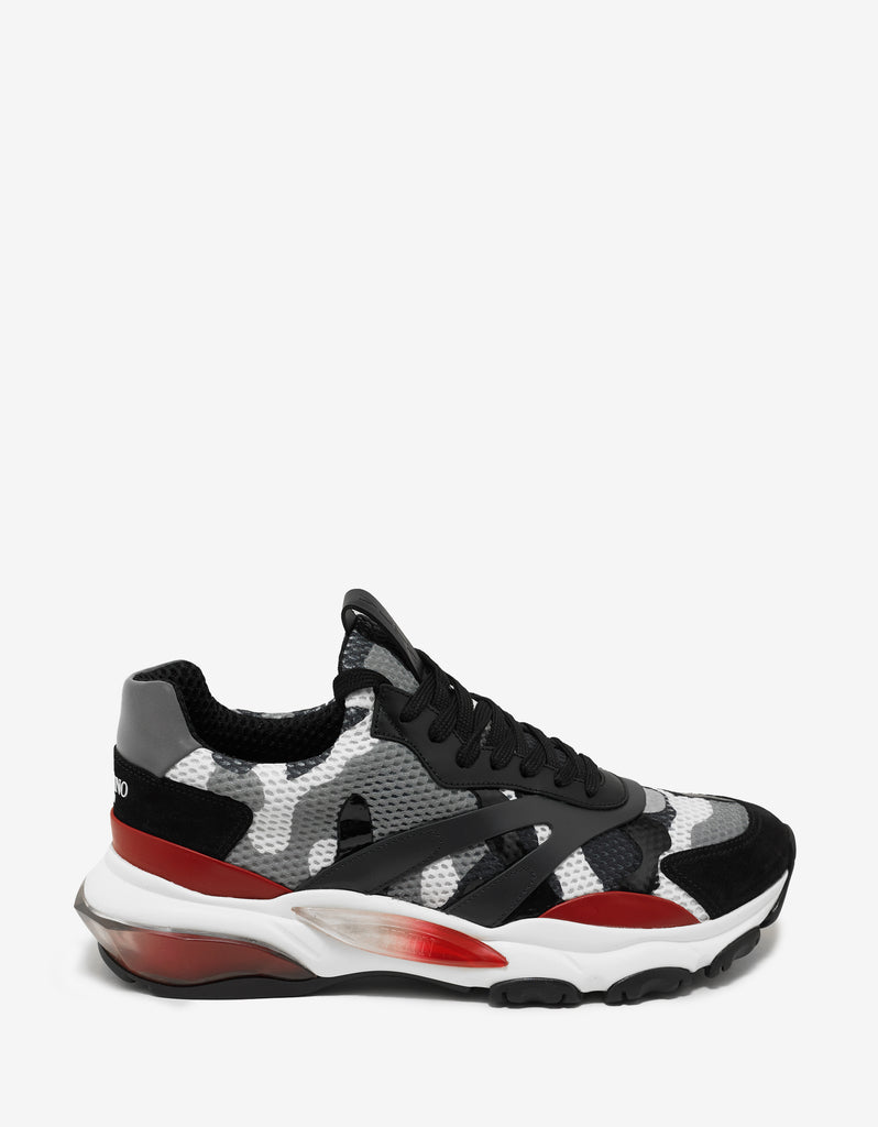 Grey Camouflage Bounce Trainers