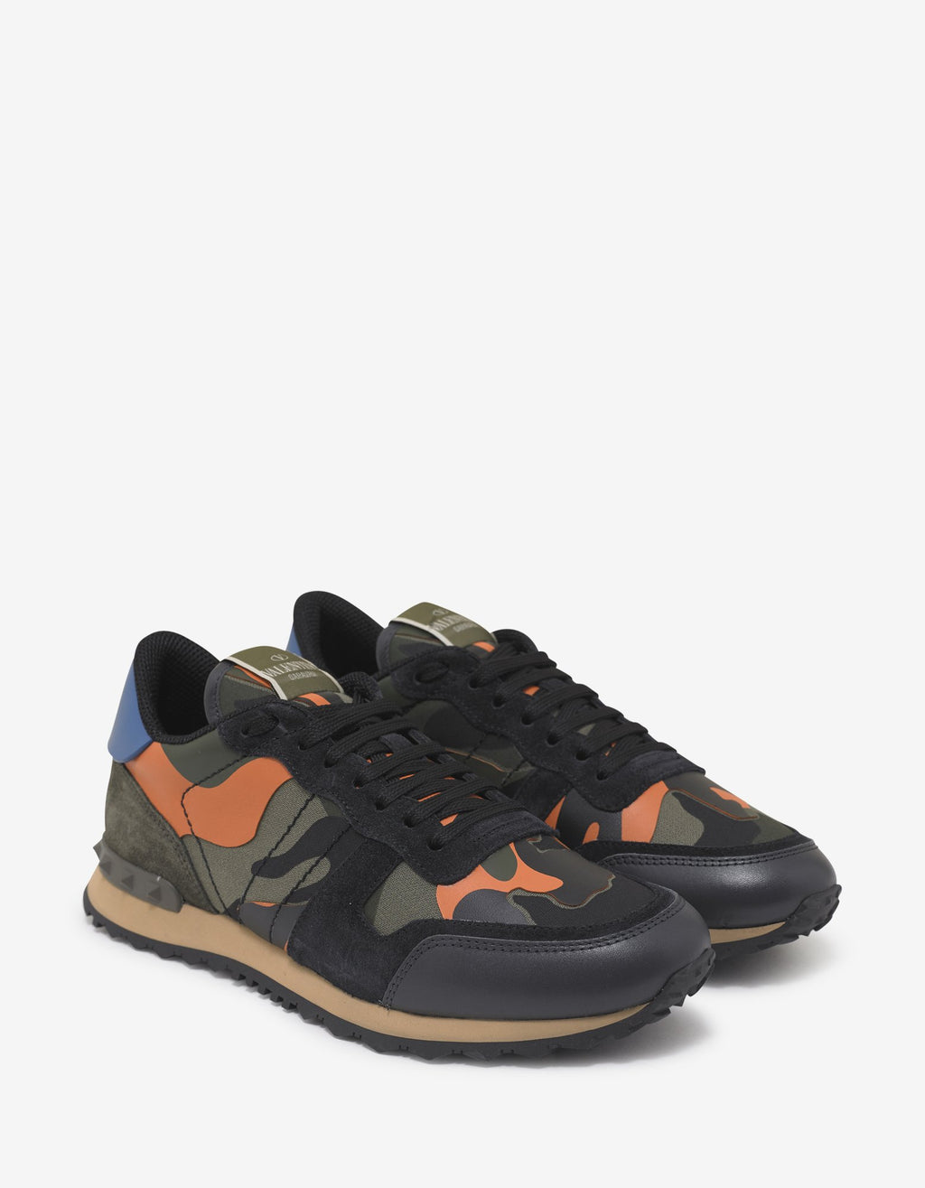Orange & Green Camo Rockrunner Trainers -