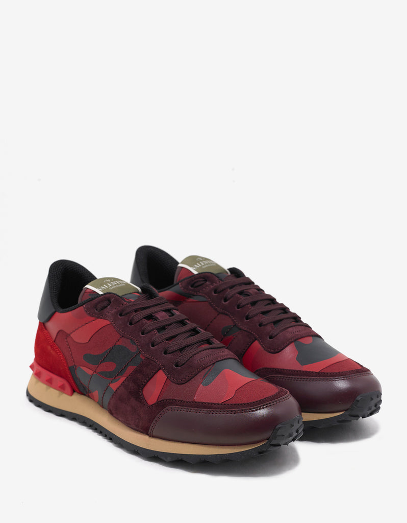 Red Camouflage Rockrunner Trainers