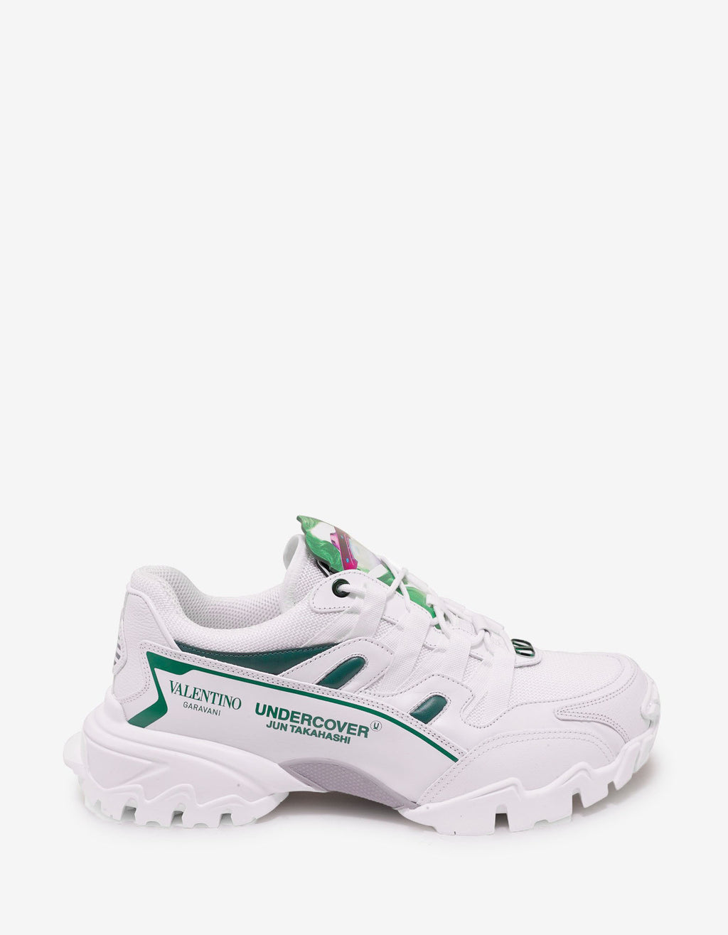 Undercover White Climbers Trainers