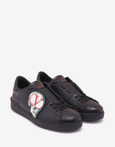 Black Tennis Light Low Trainers