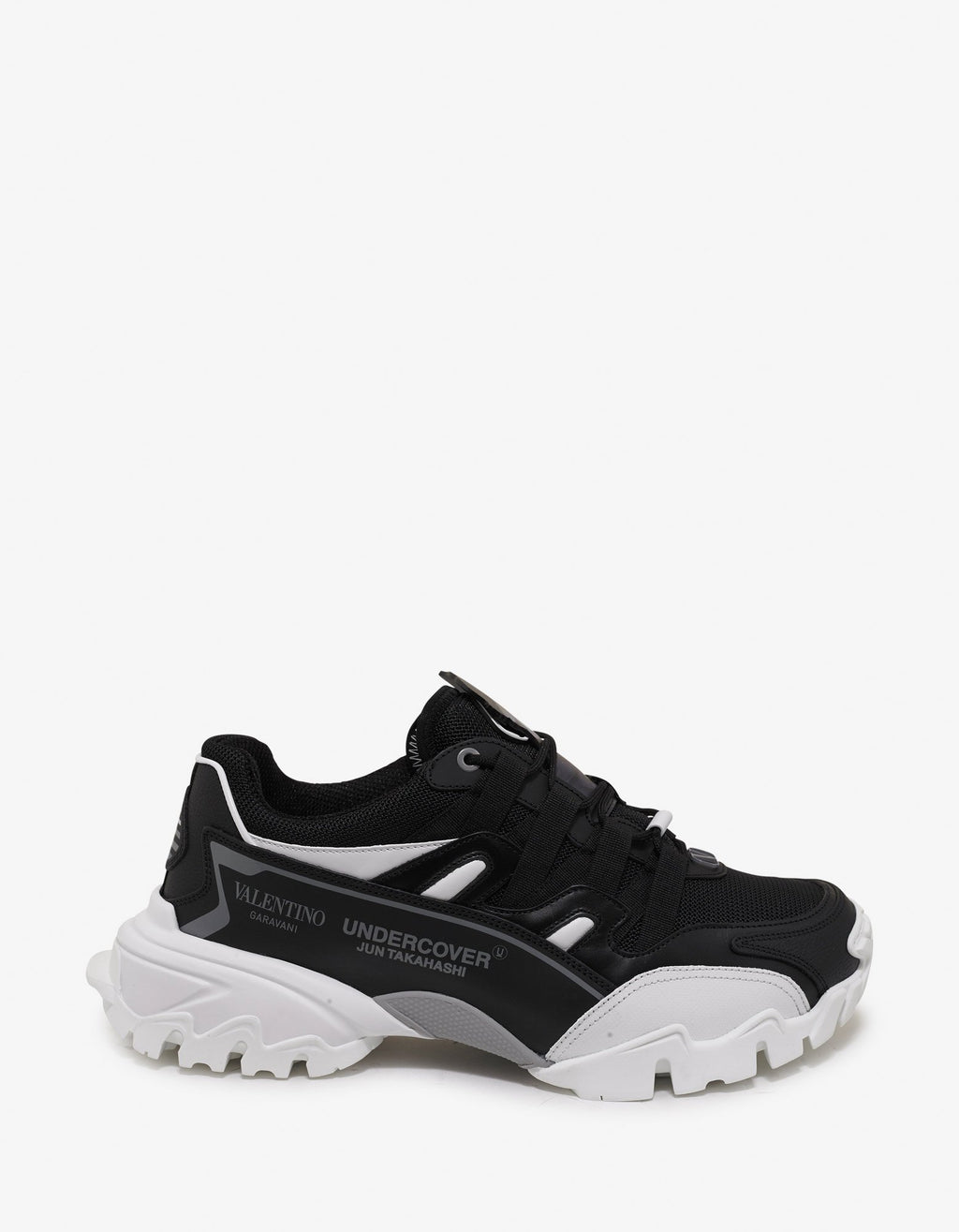 Undercover Black & White Climbers Trainers -