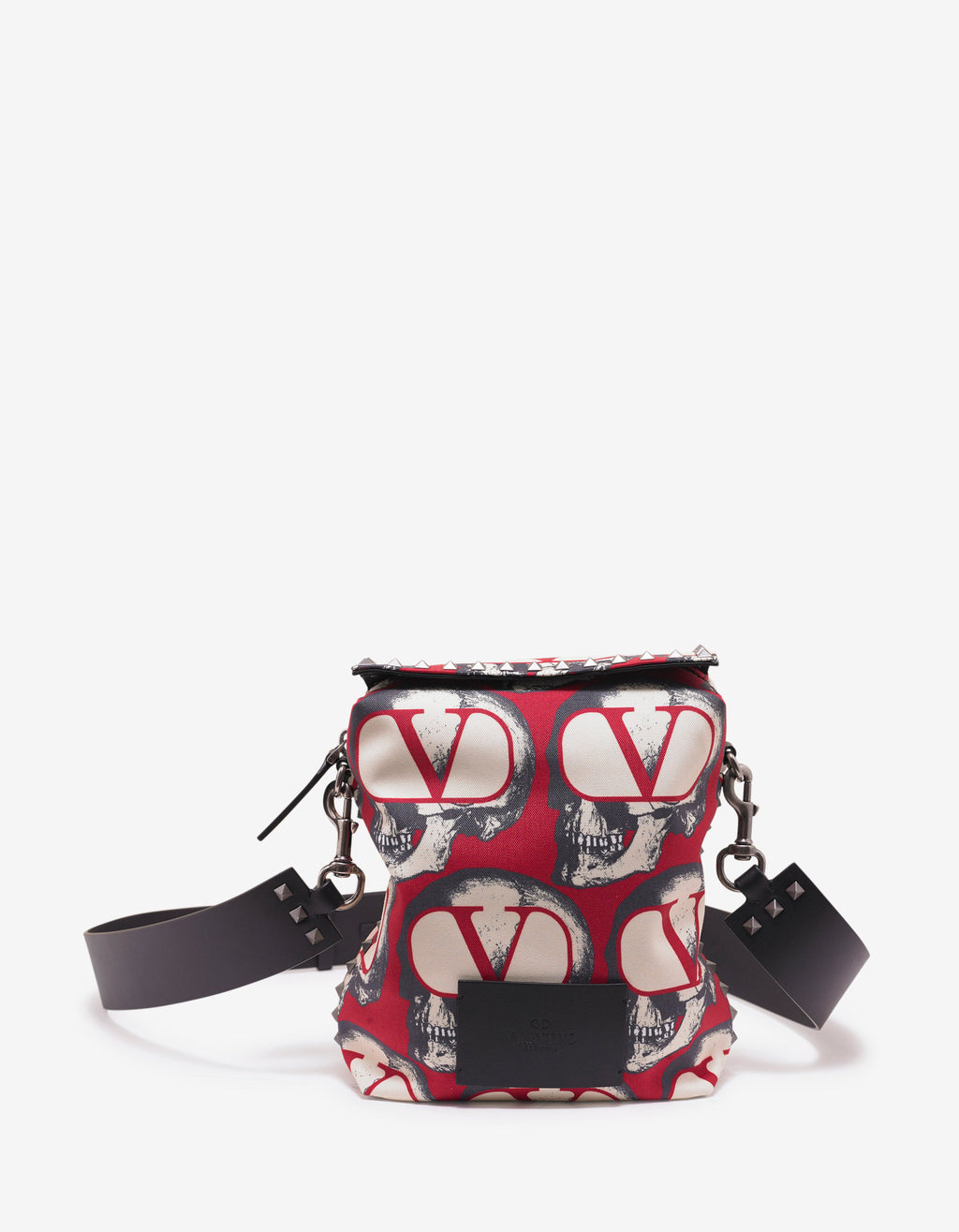 Undercover Go Skull Print Shoulder Bag