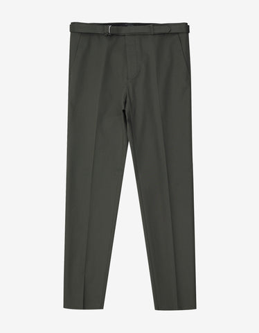 Valentino Khaki Belted Trousers