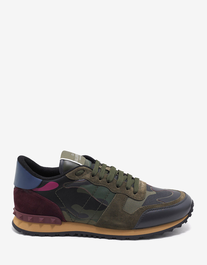 Green & Pink Camouflage Rockrunner Trainers