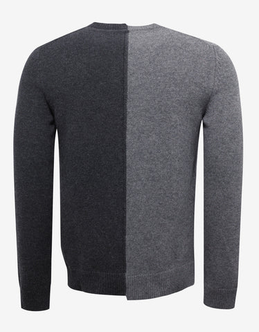 Valentino Grey 'Beauty is a Birthright' Sweater