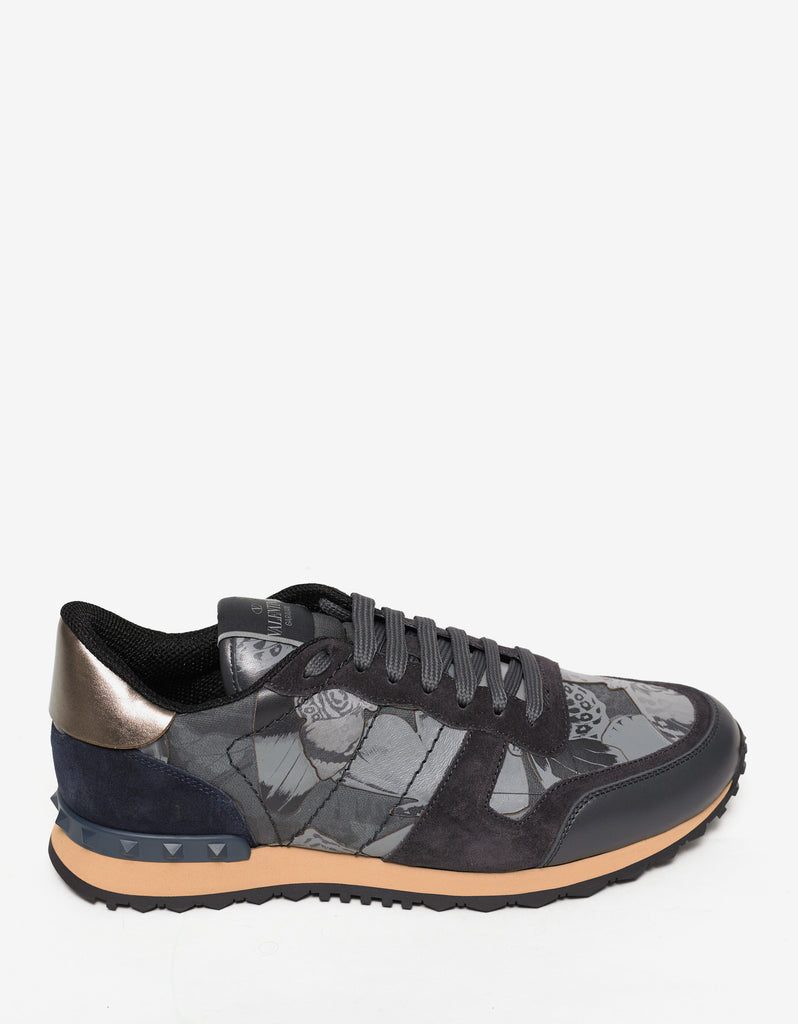 Grey Camubutterfly Rockrunner Trainers