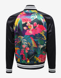 Multicolour Tropical Print Souvenir Jacket