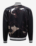 Black Panther Intarsia Souvenir Jacket