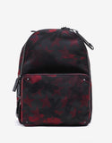 Red & Black Camustars Canvas Backpack