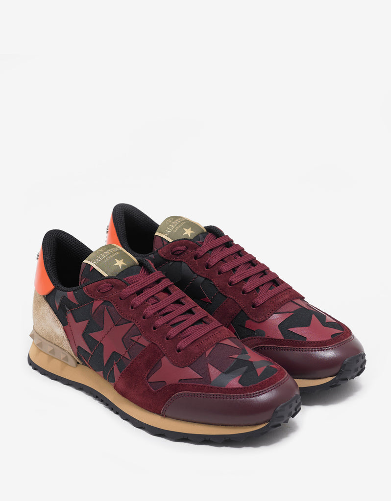 Camustars Red Rockrunner Trainers