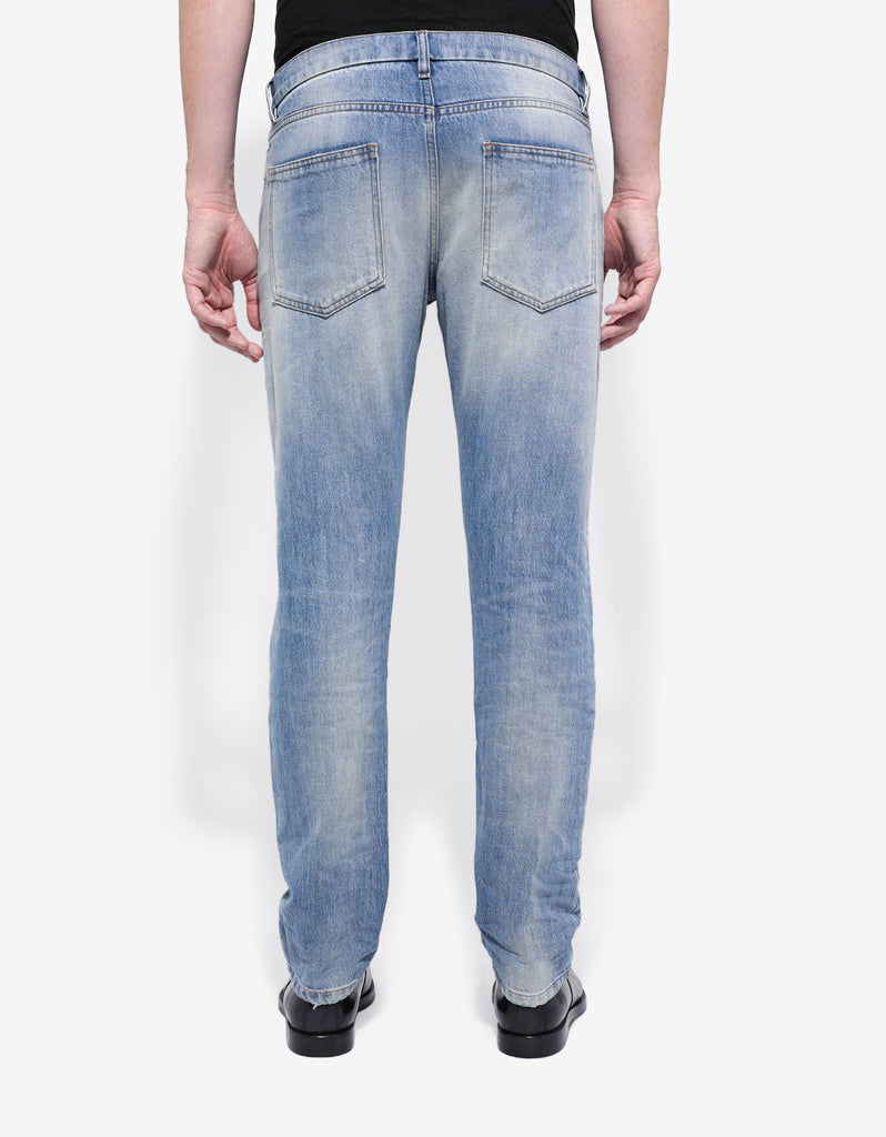Rockstud Untitled Light Blue Denim Jeans