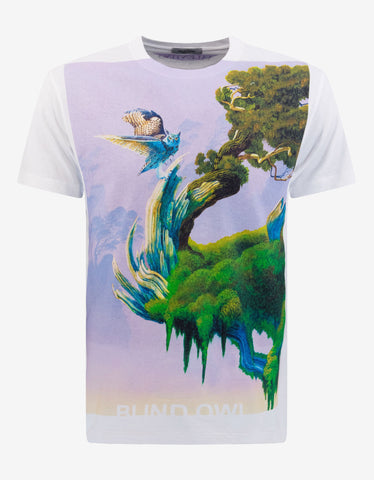 Pop Temple Print T-Shirt