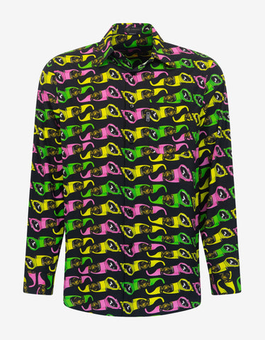 Black Loveblade Print Shirt