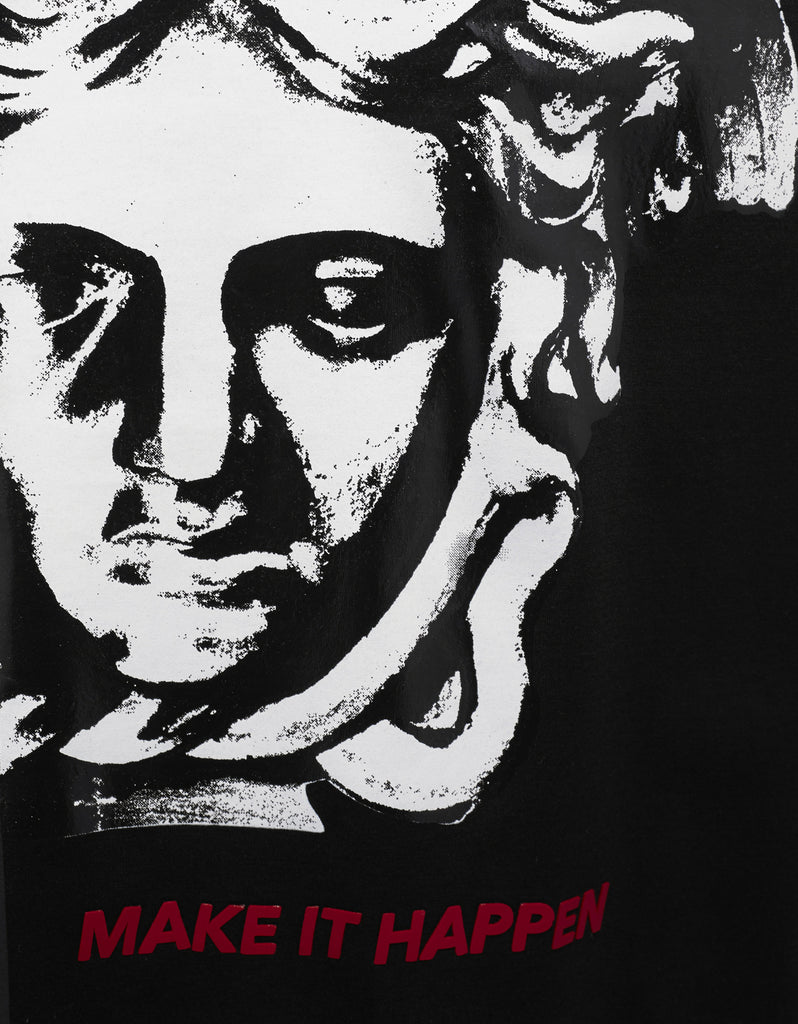Black 'Make It Happen' Medusa T-Shirt