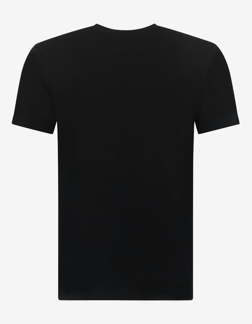 Black Home Signature Print T-Shirt