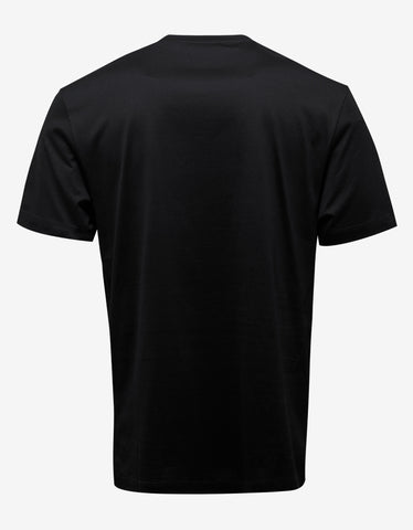 Versace Black Medusa Embroidery T-Shirt